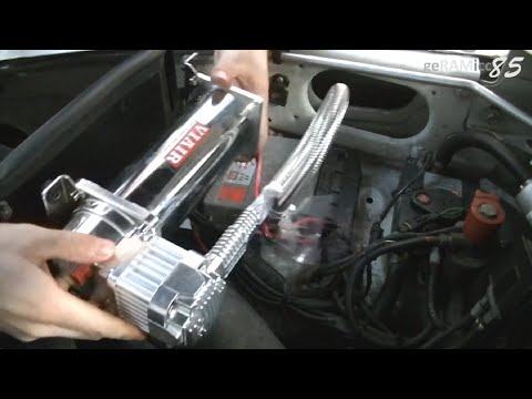 [SCHEMATICS_44OR]  HOW TO INSTALL ONBOARD AIR COMPRESSOR | WIRING+MOUNTING VIAIR 444C SOURCE  KIT SYSTEM IN DODGE RAM - YouTube | Viair Compressor Wiring |  | YouTube