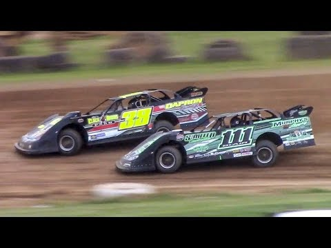 Super Late Model Heat One | McKean County Family Raceway | 7-3-18