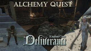 Kingdom Come: Deliverance Tech Alpha 0.4 | Alchemy Quest (Sick Bastard)