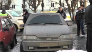 Разбил тонированное стекло на Комсомольской 9.4.13 МП