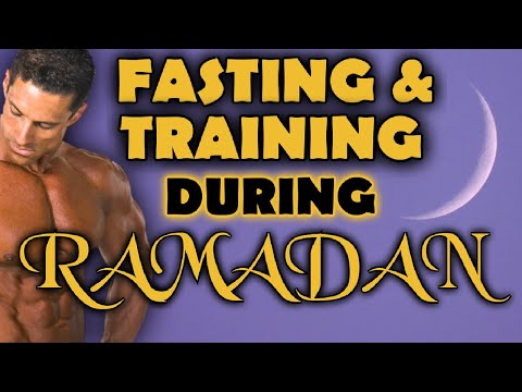 How to Train and Eat During Ramadan. Keep Your Gains While Fasting!!!