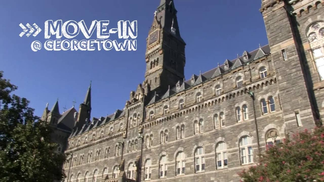 Move In Student Living Georgetown University