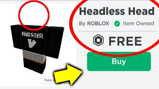 How To Get FŔEE Headless Horseman.. (Roblox)