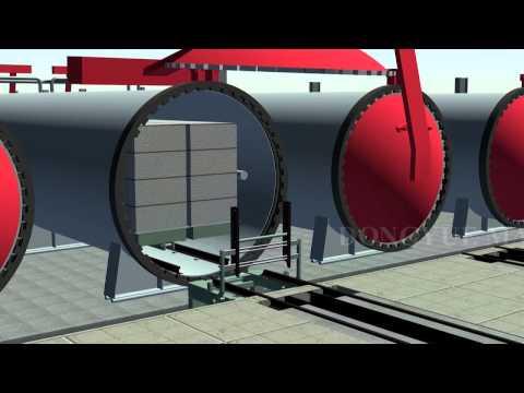 [MÁY GẠCH VINTECH] Dây chuyền sản xuất gạch bê tông khí chưng áp siêu nhẹ AAC