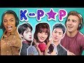 College Kids React To K Pop Bts Monsta X Sevent