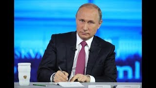 Putin holds annual Direct Line Q&A session in Moscow (Streamed Live)