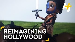 GoldieBlox Remakes Hollywood Scenes With Black Doll