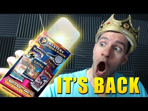 OPENING OLD MYSTERY POWER BOX from WALMART! - (AMAZING POKEMON CARD PULL)