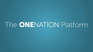 The OneNation Platform - Presented by Christopher Life