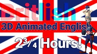 3 Hours of Video English Lessons with 3D Animation