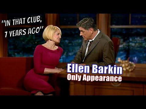 Ellen Barkin - She Has A Story About Craig From 7 Years Ago - Only Appearance