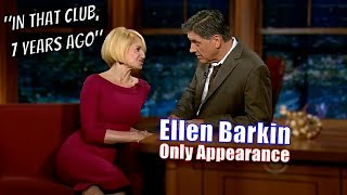 Ellen Barkin - She Wanted To Sleep With Craig, He Rejected Her - Only Appearance