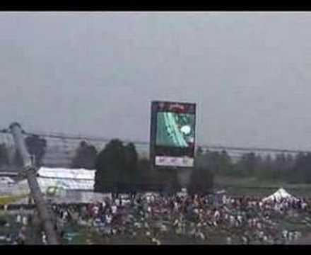 2007 Indy 500 Tony Kanaan Incident