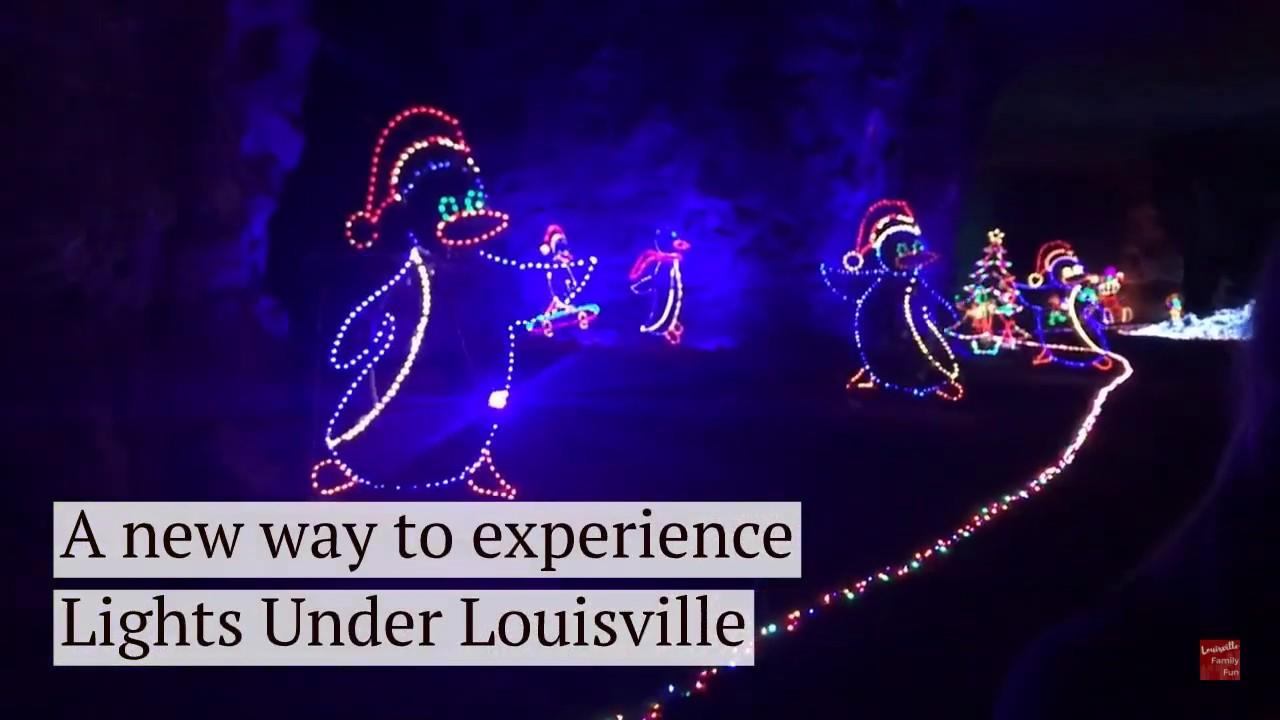 Mega Cavern Christmas Lights.Christmas Express At Lights Under Louisville Louisville Mega Cavern