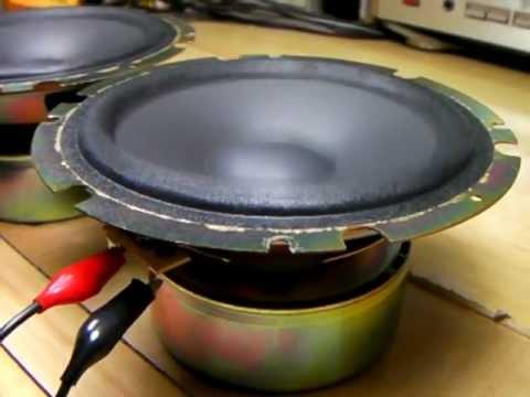 test SONY Speaker unit 1-544-630-21 14cm (Bass I Love You)