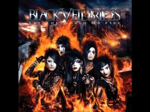 "Black Veil Brides - ""Fallen Angels"" lyrics - YouTube"