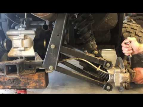 HUGE PROBLEM - Polaris Ranger 800 900 1000 - Rear Axle CV Joint Replacement  - Back Noise - Boot Rip