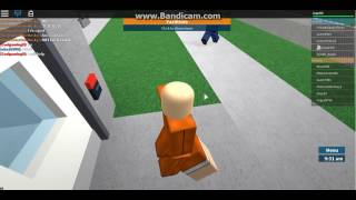 playing ROBLOX out of my vos you are heard!!! prison life