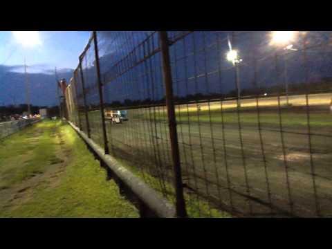 1ST  HEAT   Gulf Coast Speedway 6 27 2015