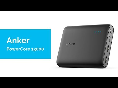 Anker PowerCore 13000 Unboxing (Power Bank)