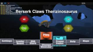 Roblox Dinosaur Simulator 2017 info and codes