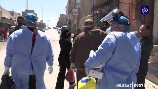 عينات عشوائية من عدة مخيمات في العاصمة احترازياً في إطار مواجهة كورونا (12/4/2020)