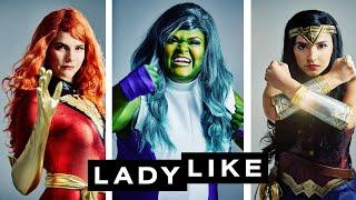 The History Of The Female Superhero
