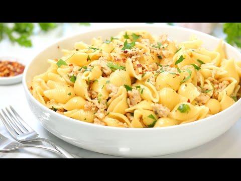 Creamy Garlic Chicken Pasta   20 Minute Dinner Ideas
