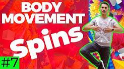Salsa Body Movement Tutorial #7 : Spins | by Marius&Elena (2018)