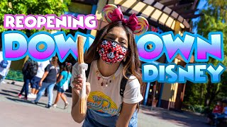 Downtown Disney Has Reopened At The Disneyland Resort And What to Expect!