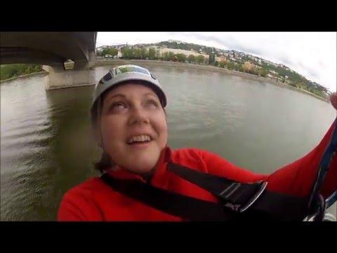 zoskok z mosta LF