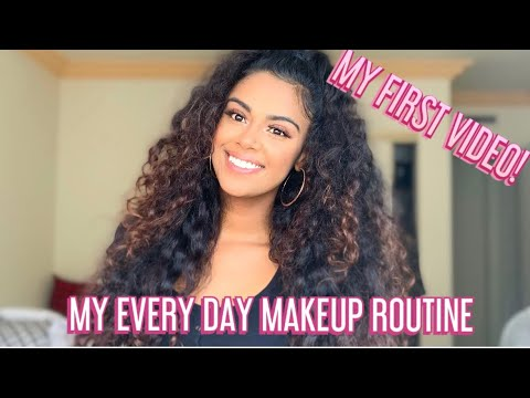 MY EVERYDAY MAKEUP ROUTINE 2019 | QUICK 10 MIN MOMMY MAKEUP | MY FIRST VIDEO! thumbnail