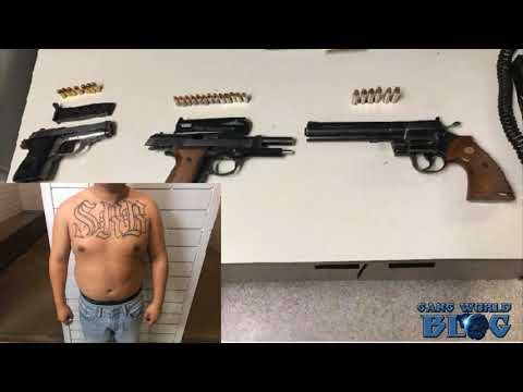 2 Santa Rita gang members arrested Saturday (Salinas, Ca)