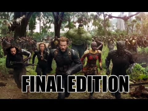 MARVEL CINEMATIC UNIVERSE IN CHRONOLOGICAL ORDER *FINAL EDITION*