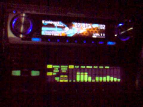 alpine era-g320 digital car eq with spectrum analizer