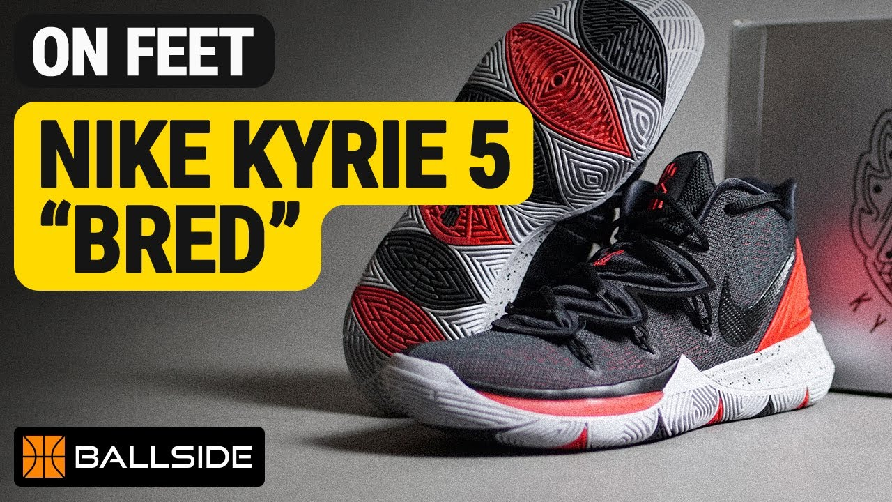 red kyrie 5