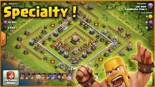 Clash of Clans⭐TH11 Special Army For Push Legend League Trophy⭐Awesome Attack.