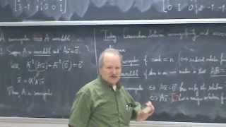 Shifrin Math 3500 Day 33 Nonsingularity & Invertibility