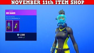 Fortnite Item Shop (November 11th) | Everything's Trash Except For The NFL Skins!