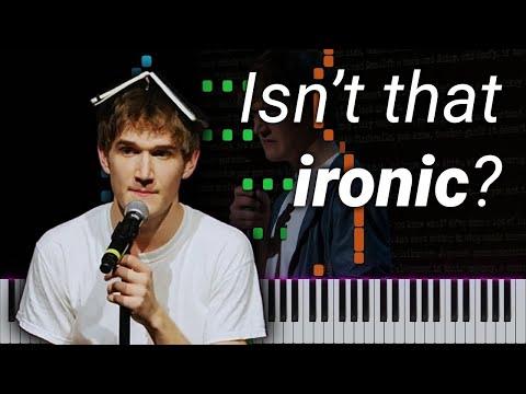 Bo Burnham // Ironic // Piano