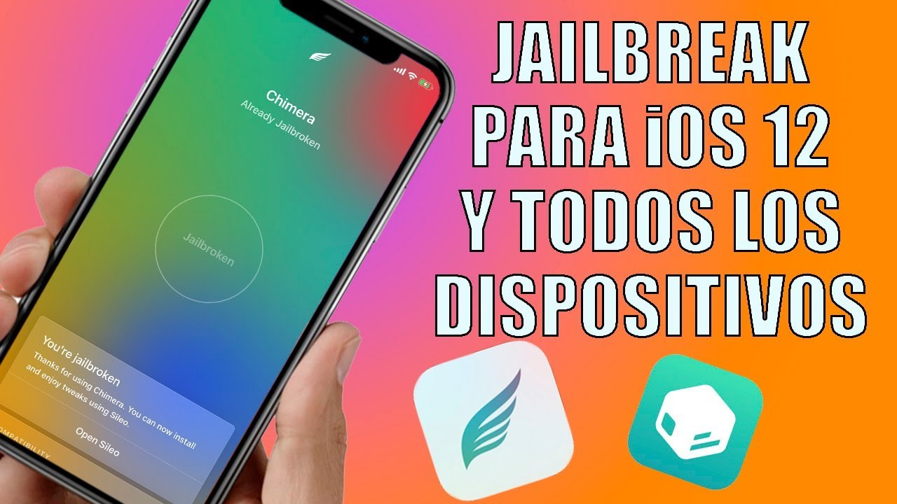 Jailbreak Chimera para iOS 12 (12 - 12 1 2) todos los iPhone