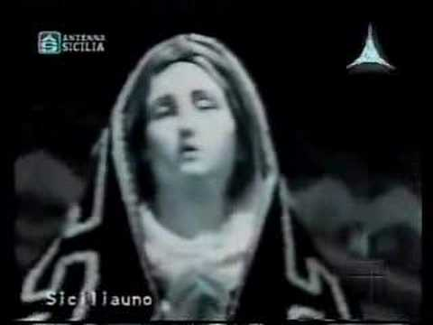 Virgin Mary's Statue Opens Her Eyes