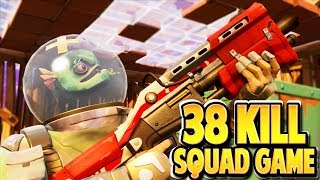 LEVIATHAN SKIN 38 KILL SQUADS GAMEPLAY in FORTNITE: BATTLE ROYALE! | TBNRKENWORTH