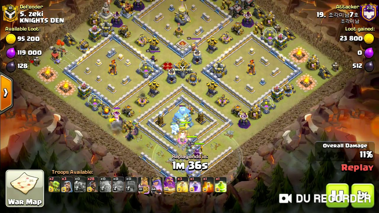 BEST HOG ATTACK IN COC CLEAN....... 🥰😍 - YouTube