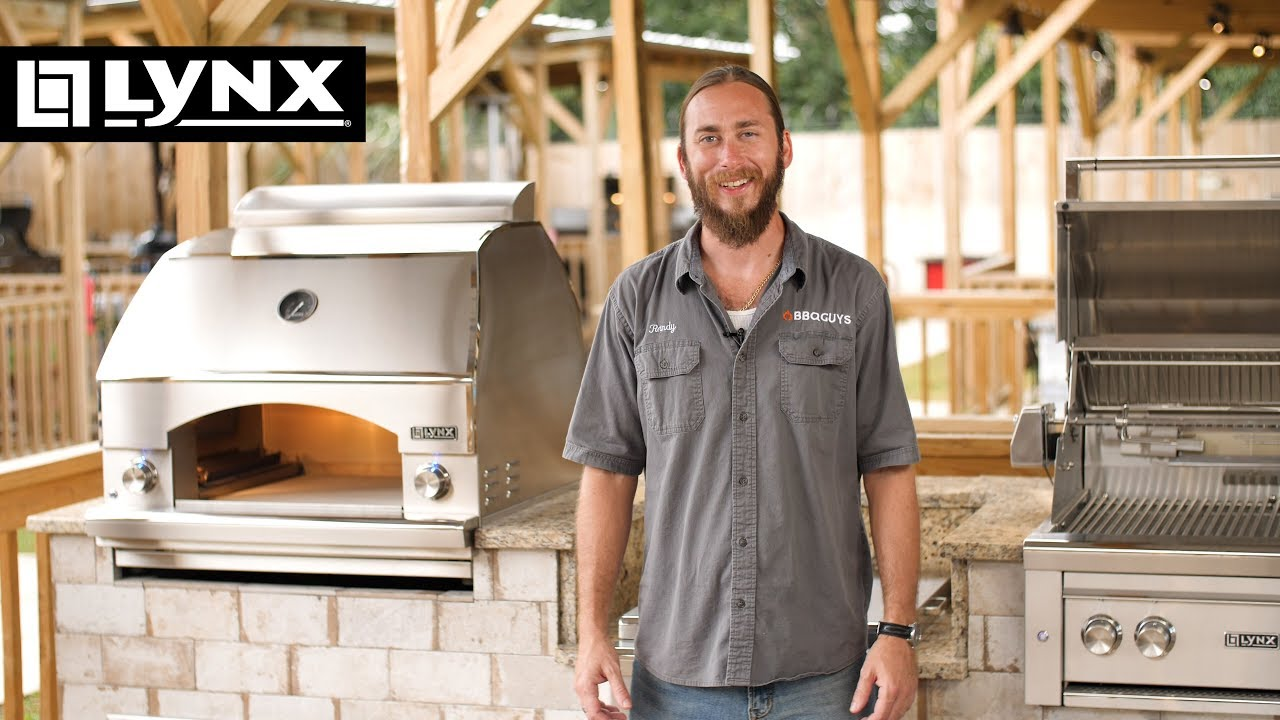 Lynx Napoli Outdoor Pizza Oven Overview Bbqguys Youtube