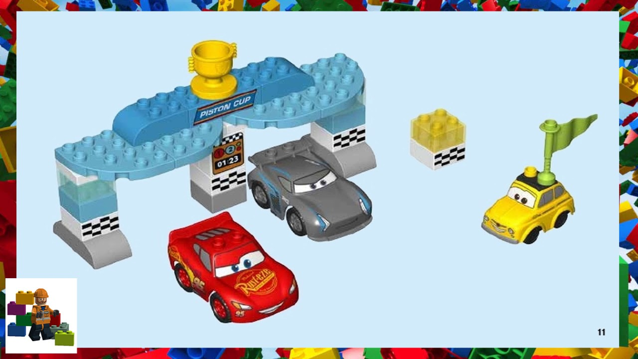 Lego Duplo Cars Instructions User Guide Manual That Easy To Read