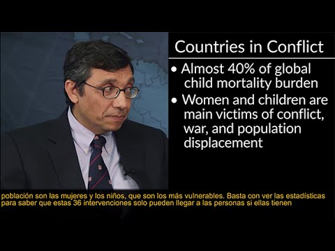 "Global Health WSP - ""Addressing Child Survival Globally"" with Zulfiqar Bhutta, for OPENPediatrics"