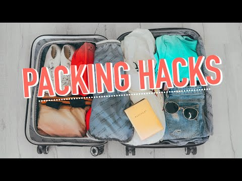 How To Pack Super Fast! Travel Hacks, Outfits, & Essentials!