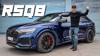 Audi RSQ8 | 300km/h im 600PS Monster! | Daniel Abt