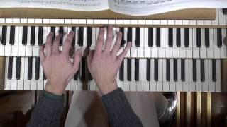Benjamin ALARD, Orgue ?  J.S.  BACH / A VIVALDI - Concerto en la mineur - I Allegro - BWV 593
